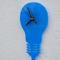 Lampadina Acrilico Azzurro