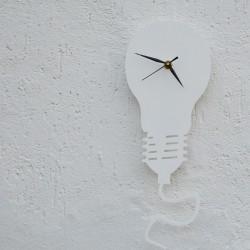 Lampadina Acrilico Bianco