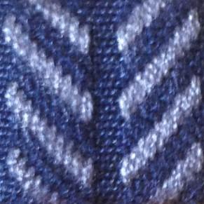 Blu e grigio lisca