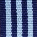 Blu e grigio a righe