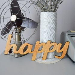 Happy - scritta decorativa