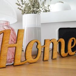 Home - scritta decorativa