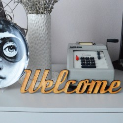 Welcome - scritta decorativa