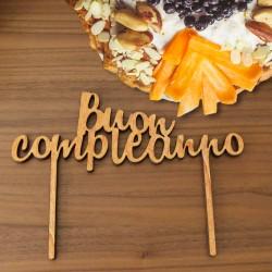 Cake Topper - Buon compleanno