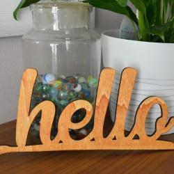 Hello - scritta decorativa